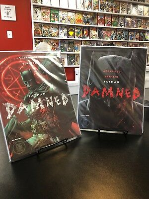 Batman Damned #1 A & B Covers - DC Black Label, Mature