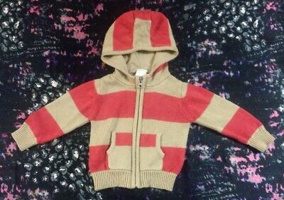 Seed Baby Boys Hooded Jumper 3-6 Months 00