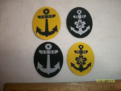 Repro Wwii Japanese Navy Field Hat Patch Emblems
