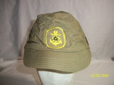 REPRO WWII JAPANESE NCOs NAVAL LANDING FORCE ADJUSTABLE CAP