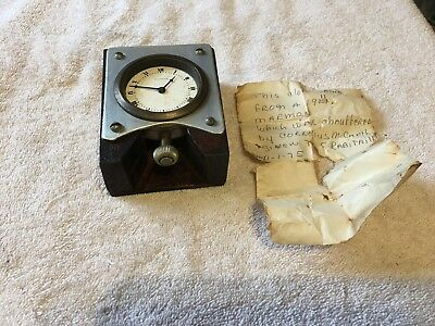 Vintage Waltham Clock From A 1911 Marmon Auto