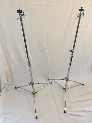 Vintage Pair of 1968 Slingerland 'Buddy Rich' Cymbal Stands