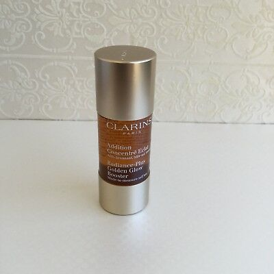 Clarins Radiance Plus Golden Glow Booster Self Tan 15ml face FS  last one