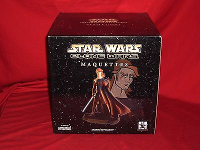 Star Wars Clone Wars Animated Anakin Skywalker Maquette by Gentle Giant