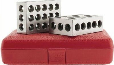 SPI 13-670-5 Precision 1-2-3 Block Set Hardened and Ground Steel with Case
