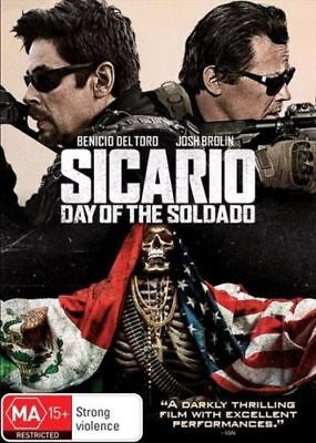 Sicario Day Of The Soldado BRAND NEW R4 DVD IN STOCK NOW