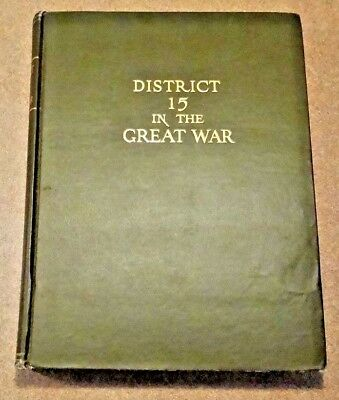 DISTRICT No. 15 of ALLEGHENY COUNTY, PENNSYLVANIA in THE GREAT WAR - World War I