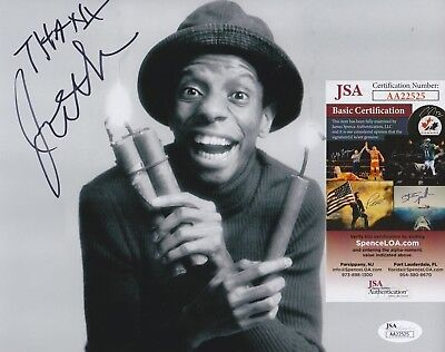 "Jimmie Walker Signed 8x10 Photo w/ JSA COA #AA22525 ""J.J."" Good Times"