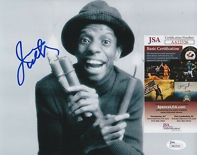 "Jimmie Walker Signed 8x10 Photo w/ JSA COA #AA22526 ""J.J."" Good Times"