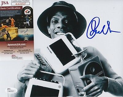 "Jimmie Walker Signed 8x10 Photo w/ JSA COA #AA22527 ""J.J."" Good Times"