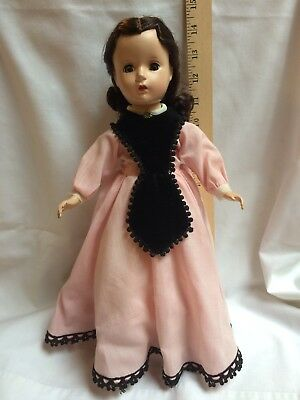 Vintage 1950's Madame Alexander Marme Little Women Doll 14""