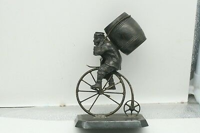 Antique Bicycle 1883 Toothpick Holder # 2649