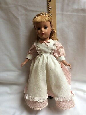 Vintage 1950's Madame Alexander Meg Little Women Doll 14""
