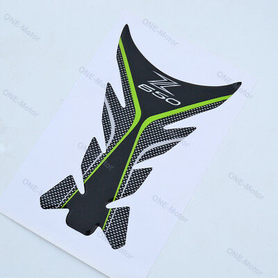 Fuel Tank Decals Pad Stickers Fit For Kawasaki Motorcycle Z650 ZR650 2017-2018