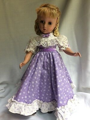 Vintage 1950's Madame Alexander Little Women Amy with Loop Curls Doll 14""