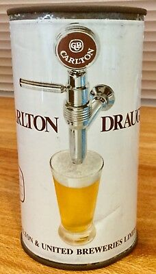 Carlton Draught. 26-2/3FL.OZ. Flat Top Steel Beer Can.