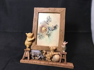 CHARPENTE DISNEY  Winnie the Pooh – Eeyore – Tigger – Piglet Photo Frame
