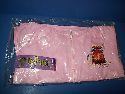 HARRY POTTER PINK RAIN JACKET COAT GIRLS S 8/10 NEW WITH TAGS NWT totes 2001