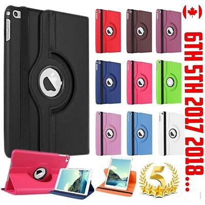 Ipad 6 5 2018 2017 Air 1 Case Cover Stand Smart Auto Wake  Leather Shockproof