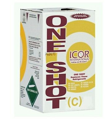 One Shot-C Refrigerant 24lb R-422C Local Pick Up Only
