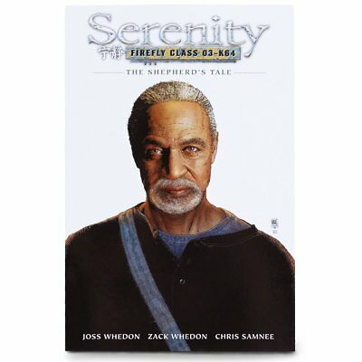 Loot Crate Firefly Cargo Crate Serenity: The Shepherd's Tale Graphic Novel