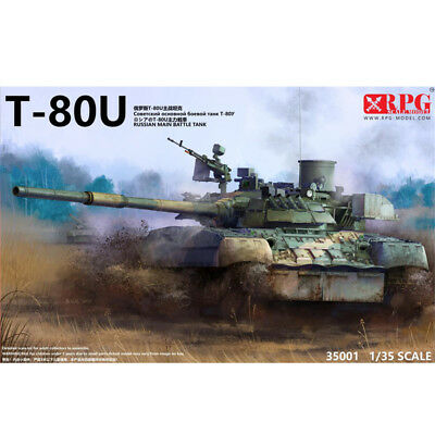 RPG 35001 1/35 Soviet/Russian T-80U main battle tank New!
