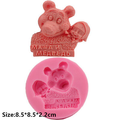Big Love Bear Silicone Cake Mould Fondant Sugar Soap Chocolate Decorating Tools