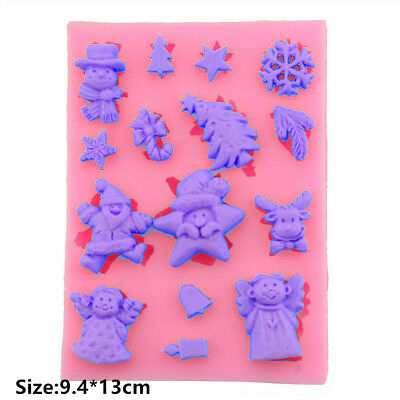 Small Items Art Silicone Cake Mould Fondant Sugar Soap Chocolate Decorating Tool
