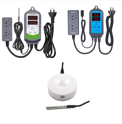 240V Temperature Controller ITC-308 + Humidity control +IHC-200 + Data Logger AU