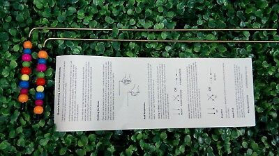 R09 Dowsing Rods Divining L-Rods - handcrafted Brass, Water, Ghosts, Gems