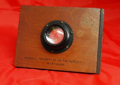 Bausch & Lomb Tessar Lens for 4 X 5 Camera