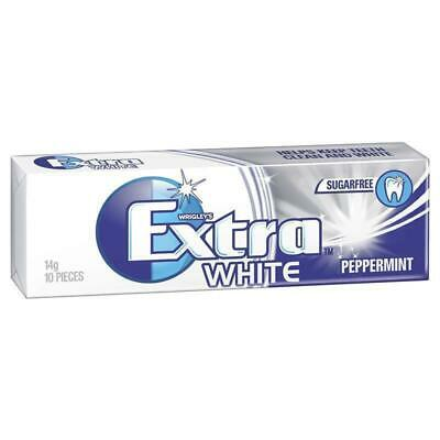 Extra White Peppermint Gum 10 piece