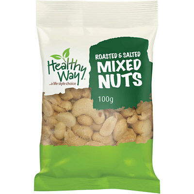 Healthy Way Roasted & Salted Mixed Nuts 100g