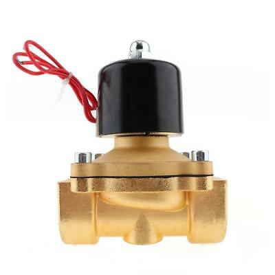 AC 110V Normally Closed Type Aluminum Alloy Electric Solenoid Valve with 1''Pipe