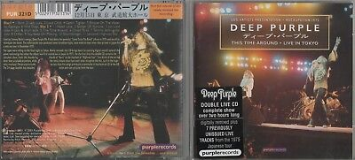 Deep Purple -  This Time Around / Live in Tokyo 1975  -  2 CD´s