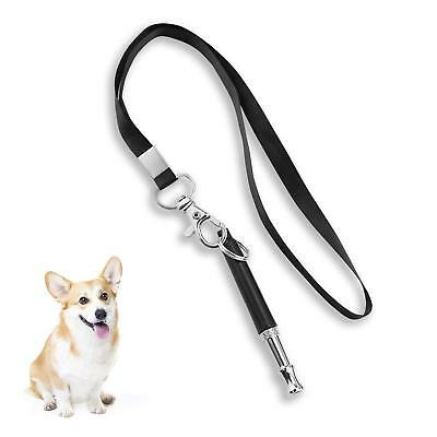 Pet Dog Training Obedience Whistle Stop Barking Supersonic Sound Pitch Quiet SL
