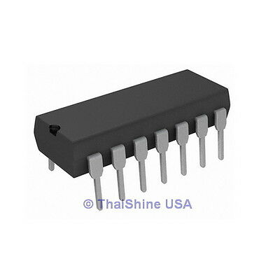10pcs LM324N LM324 IC 324 Low Power Quad Op-Amp DIP - USA Seller - Free Shipping