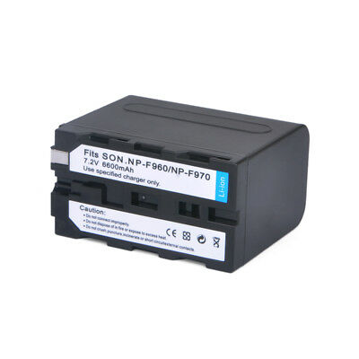 6600mAh NP-F960/F970 Camera Battery SONY NP-F930 F950 F330 F550 F570 F750 F770