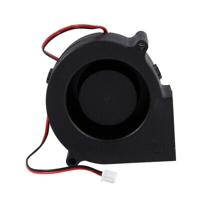 2X(75mm x 30mm 2Pin DC 5V Brushless Blower Cooling Fan for Computer PC B5M2) 2*