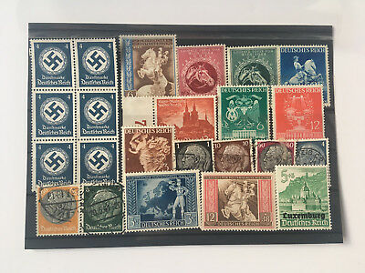 Briefmarken Set Deutsches Reich