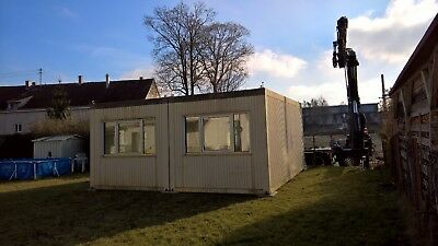 36m² (2x18m²) ALHO Wohncontainer Bürocontainer Lagercontainer Vollausstattung