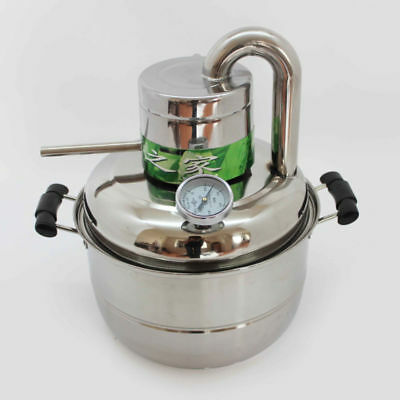 Wine Making Alcohol Distiller 10L Home Brew Liquor Distiller