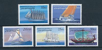 [81301] Djibouti 2000 Ships Sail boats Greek Merchantman MNH