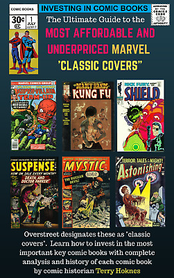 INVESTING IN COMIC BOOKS - Top Most Affordable MARVEL CLASSIC COVER comic books
