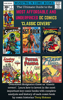 INVESTING IN COMIC BOOKS - Top Most Affordable DC CLASSIC COVER Key comic books