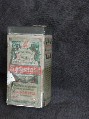 antique  BAYER somatose pharmacy drugstore advertising old vintage box retro old