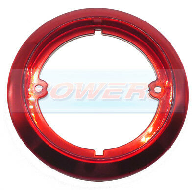JOKON 710 RED TRIM BEZEL OUTER RING FOR 95mm ROUND REAR LIGHTS LAMPS