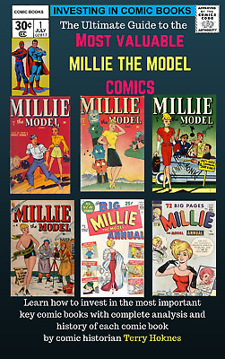INVESTING IN COMIC BOOKS - Top Most Valuable MILLIE THE MODEL key issue comics