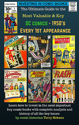 INVESTING IN COMIC BOOKS - Top Most Valuable DC 1950's 1st appearance key books