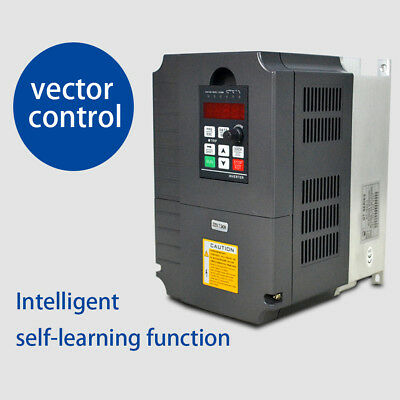 Drive 220V 34A Variable 10Hp Frequency 7.5Kw Inverter For Vfd